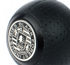 Picture of BFI Black Stainless Crest Coin for Heavy Weight Shift Knobs