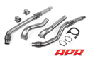 Billede af APR Cast Downpipe Exhaust System for the 4.0 TFSI