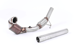 Picture of Milltek - LARGE BORE DOWNPIPE AND HI-FLOW SPORTS CAT 1.8 TSI - SSXVW417